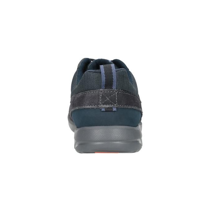 Ležérne kožené tenisky rockport, modrá, 826-9021 - 16