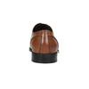 Hnedé kožené Derby poltopánky bata, hnedá, 826-3646 - 16