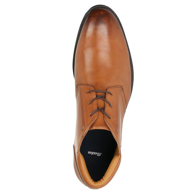 Pánska kožená Ombré obuv bata, hnedá, 826-3913 - 26