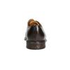 Hnedé ležérne poltopánky z kože bata, hnedá, 826-4914 - 17