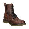 Dámska členková obuv so zipsom bata, hnedá, 596-3681 - 13