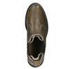 Dámska kožená Chelsea obuv bata, hnedá, 596-7680 - 15