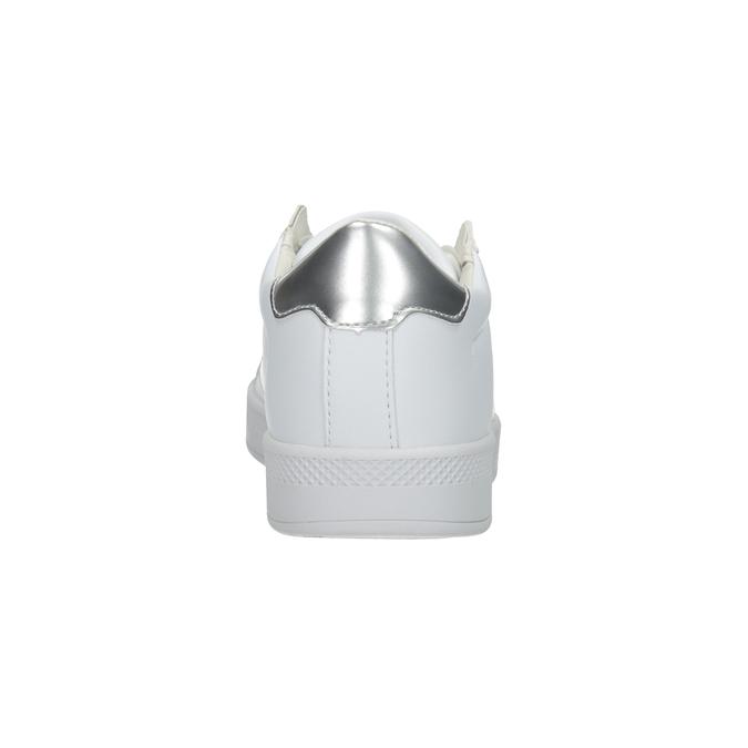 Dámske biele tenisky atletico, biela, 501-1171 - 16