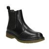 Kožená dámská Chelsea obuv bata, čierna, 594-6680 - 13
