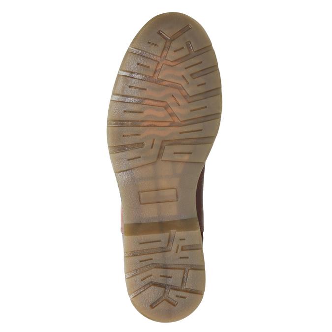 Kožená dámska Chelsea obuv bata, hnedá, 596-3680 - 17