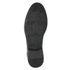 Kožená členková obuv so štruktúrou bata, šedá, 826-2616 - 19