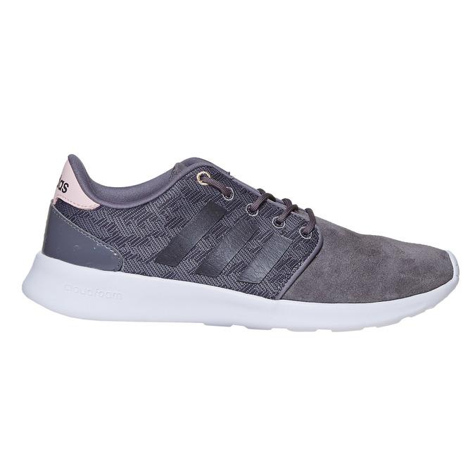 Kožené dámske tenisky adidas, šedá, 503-2111 - 15