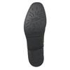Kožená dámska Chelsea obuv bata, červená, 596-5679 - 19