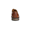 Pánske kožené poltopánky bata, hnedá, 826-3916 - 17