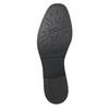 Kožená dámska Chelsea obuv so štruktúrou bata, čierna, 596-6678 - 19