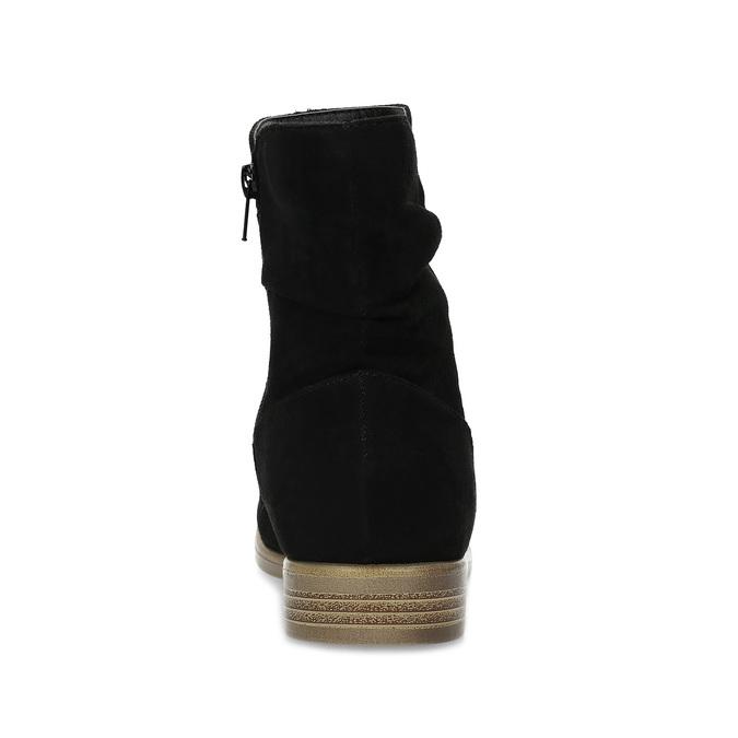 Dámské členkové čižmy bata, čierna, 599-6614 - 15