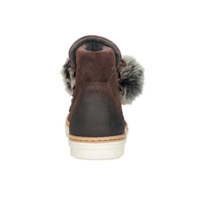 Kožená členková obuv weinbrenner, hnedá, 596-4674 - 16
