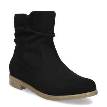 Dámské členkové čižmy bata, čierna, 599-6614 - 13