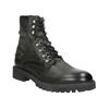 Členková kožená obuv bata, šedá, 896-2663 - 13