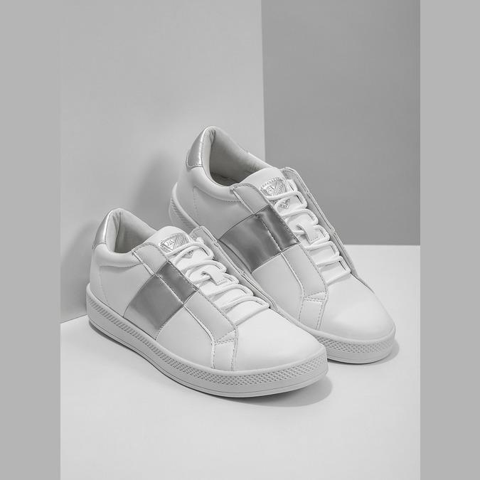Dámske biele tenisky atletico, biela, 501-1171 - 18