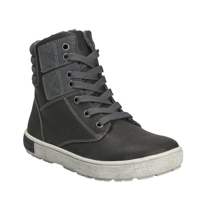 Členková detská obuv mini-b, šedá, 494-2655 - 13
