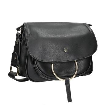 Dámska Crossbody kabelka bata, čierna, 961-6161 - 13