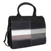 Kožená kabelka s Ombré efektom fredsbruder, čierna, 966-6056 - 13