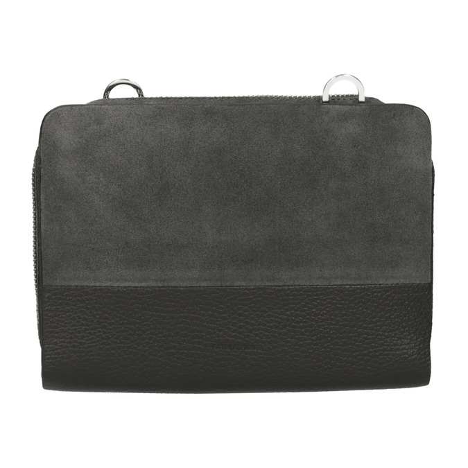 Kožená dámska Crossbody kabelka royal-republiq, šedá, 963-2050 - 26