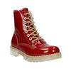 Dámska lakovaná obuv s masívnou podrážkou weinbrenner, červená, 598-5604 - 13