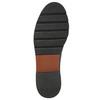 Dámske kožené Monk Shoes bata, červená, 516-5611 - 19