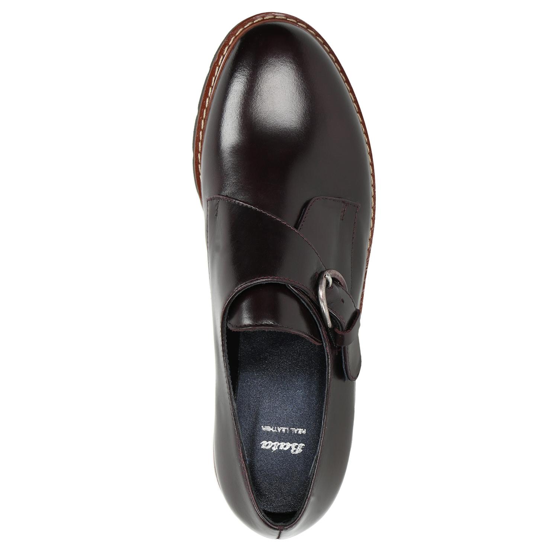 9a19b9dad7 Baťa Dámske kožené Monk Shoes - Výrazné podošvy