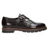 Dámske kožené Monk Shoes bata, červená, 516-5611 - 15