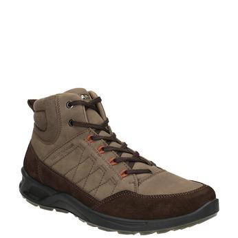 Kožená pánska obuv weinbrenner, hnedá, 846-4647 - 13