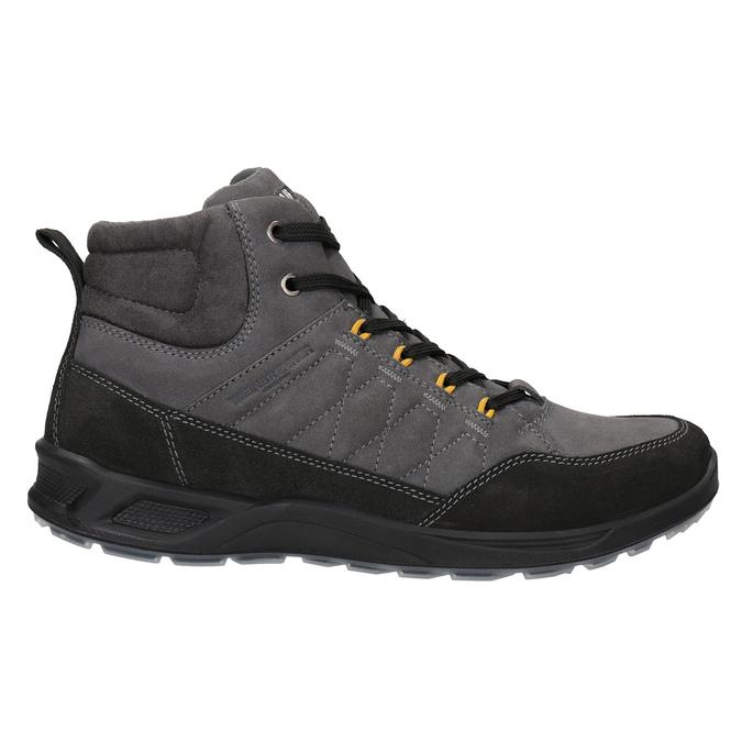 Pánska kožená Outdoor obuv weinbrenner, šedá, 846-2647 - 26