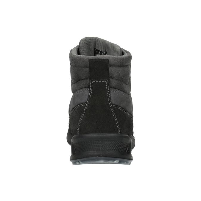 Pánska kožená Outdoor obuv weinbrenner, šedá, 846-2647 - 16