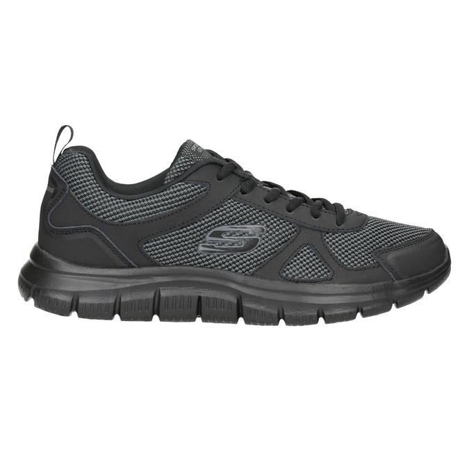 Pánske čierne tenisky skechers, čierna, 809-6331 - 26