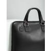 Kožená taška s odnímateľným popruhom bata, čierna, 964-6223 - 14