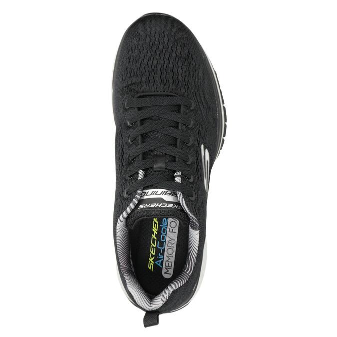 Čierne pánske tenisky skechers, čierna, 809-6330 - 15