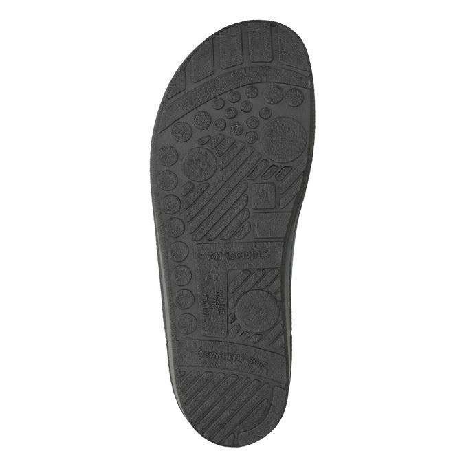 Pánska domáca obuv bata, modrá, 879-9611 - 19