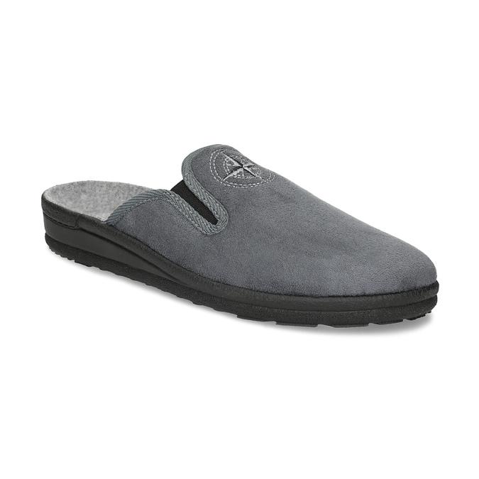 Pánska domáca obuv bata, šedá, 879-2610 - 13