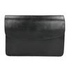 Čierna kožená Crossbody kabelka vagabond, čierna, 964-6086 - 26