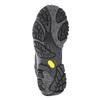 Pánska kožená obuv v Outdoor štýle merrell, čierna, 806-6561 - 17