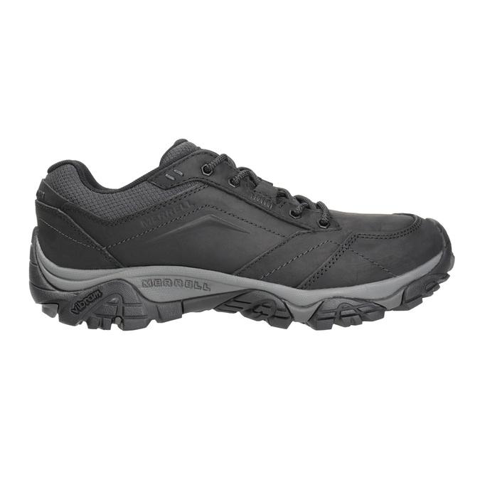 Pánska kožená obuv v Outdoor štýle merrell, čierna, 806-6561 - 26
