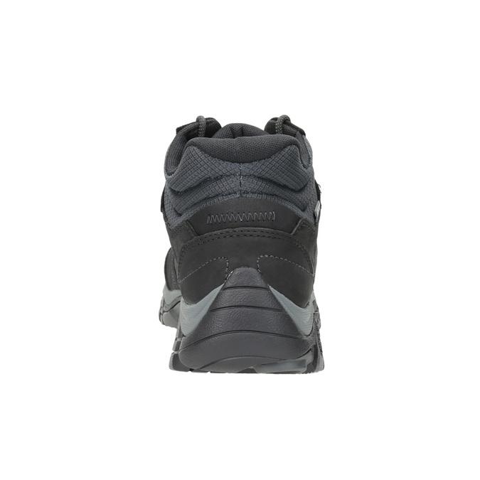 Kožená členková obuv v Outdoor štýle merrell, čierna, 806-6569 - 16