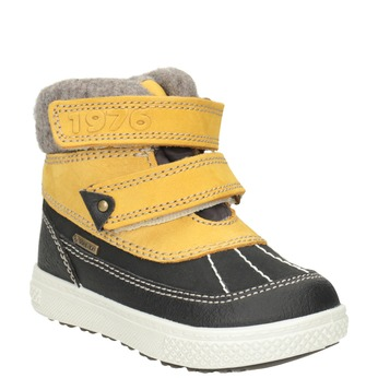 Detská zimná obuv kožená primigi, žltá, 196-8006 - 13