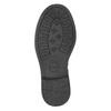 Dievčenské čižmy so zipsom mini-b, čierna, 291-6396 - 17