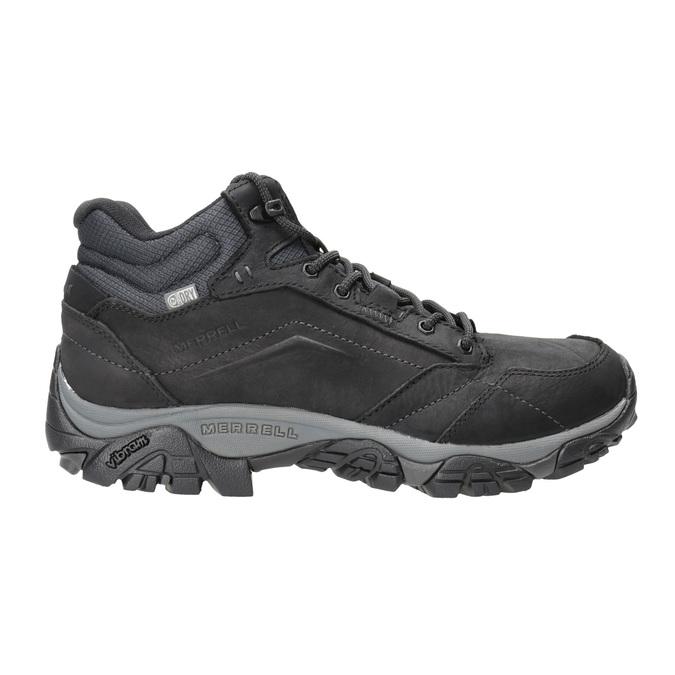 Kožená členková obuv v Outdoor štýle merrell, čierna, 806-6569 - 26