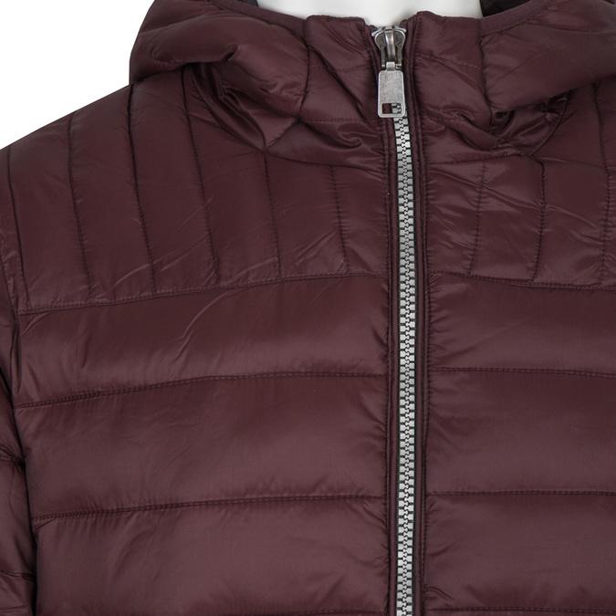Pánska prešívaná bunda s kapucňou bata, červená, 979-5143 - 16