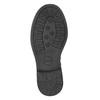 Dievčenské čižmy s kamienkami mini-b, čierna, 291-6397 - 17