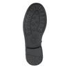 Dievčenské čižmy s kamienkami mini-b, čierna, 391-6398 - 17