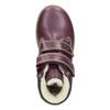 Detské členkové topánky so zateplením primigi, fialová, 324-9012 - 15