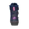 Dievčenská zimná obuv na suchý zips mini-b, modrá, 299-9613 - 17
