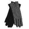 Dámske rukavice s mašličkou bata, čierna, 909-6615 - 13