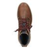 Členková pánska zimná obuv bata, hnedá, 896-3677 - 17