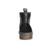 Kožená zimná členková obuv bata, čierna, 896-6685 - 17